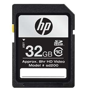 HP 32 GB SDHC Flash Memory Card CG790A-GE