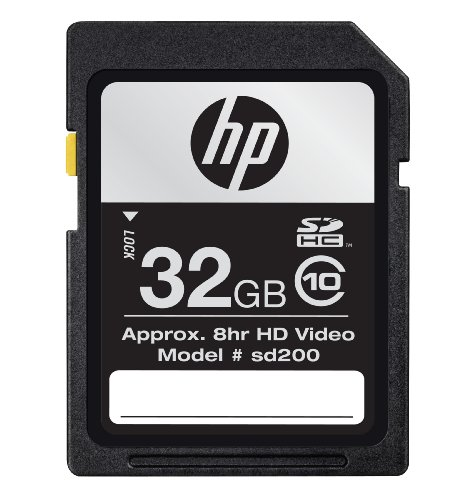 HP CG790A-AZ 32 GB Flash Memory Card Class 10 SDHC