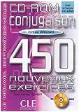 echange, troc Odile Grand-Clément - Conjugaison 450 exercices, débutant (CD-Rom PC et Mac inclus)