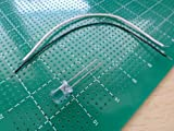 LEDライト・コードのセット<LED電子工作用><φ5mm・白・10本><led-119-a>