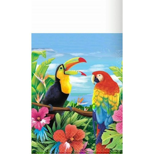 Hawaiian Tropics 54in x 102in Paper Tablecover - 1