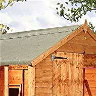 Buy Green Mineral Shed Roofing Felt 7.7m x 1m roll -image