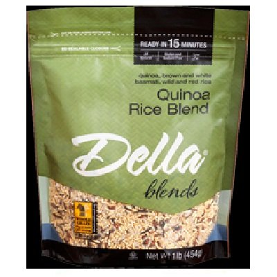 Della 4 Rice Blend Qukckng (6x16OZ ) (Della Rice compare prices)