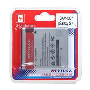 MYBAT Li-ion Battery for SAMSUNG I337 (Galaxy S 4)