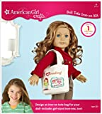 American Girl Crafts Doll Iron-on Kit, Tote