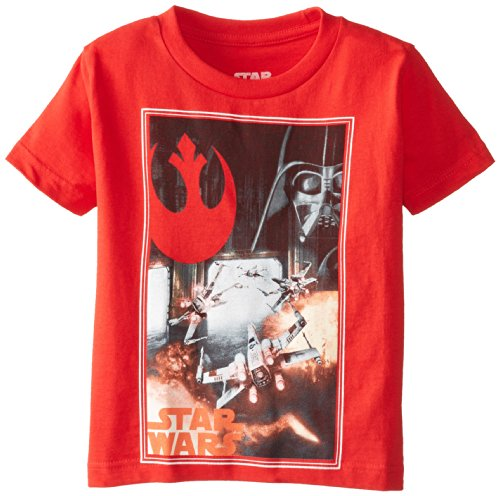 Star Wars Little Boys' Rebel For The Win T-Shirt