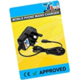 TK9K[TM] - MOBILE PHONE MAINS HOUSE BATTERY CHARGER FOR SAMSUNG ONLY FOR GT-B3210 Genio Qwerty UK Spec 3 Pin Charger for NI-MH, LI-ION & LI-POL Batteries. - Rapid charge. - 12 Months Warranty - CE approved - Lightweight - Multi input voltage capability (