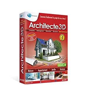 Avanquest architecte 3d nexgen 2011 silver advanced for Architecte 3d avanquest