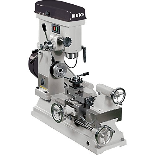 Klutch-Lathe-Milling-and-Drilling-Machine-12-HP-110V-Motor