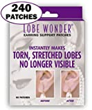 Lobe Wonder Ear Support Patches for Earrings, 60-Count Boxes (Pack of 4)