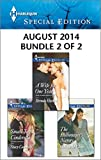 Harlequin Special Edition August 2014 - Bundle 2 of 2: A Wife for One Year\Small-Town Cinderella\The Billionaires Nanny