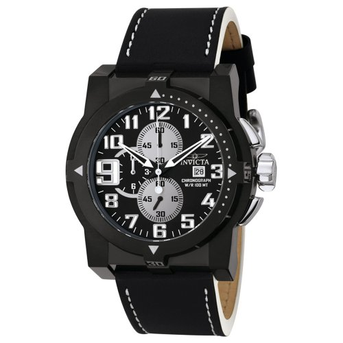 Invicta Men's Speedway Collection Black Ion-Plated Chronograph Watch #5522