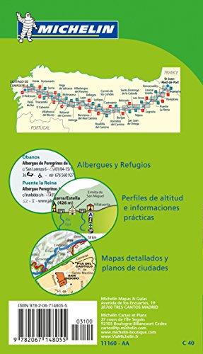 Mapa gu a camino de santiago mapas tem ticos michelin for Jardin japones horarios