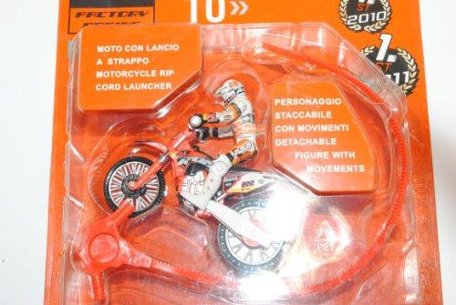 KTM 350SX-F mit Fahrer Factory Racing 1/25 1/24 Mondo Motors Modell Motorrad mit individiuellem Wunschkennzeichen