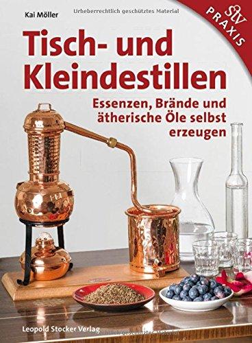 Tisch-und-Kleindestillen-Essenzen-Brnde-therische-le-selbst-erzeugen