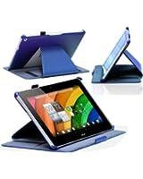 Navitech housse pour Acer Iconia A3-A10 et A3-A11(bleu)