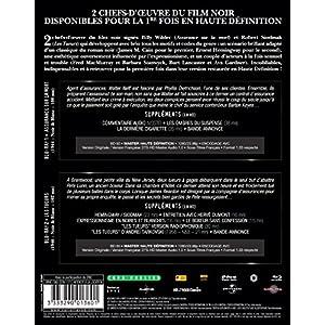 Assurance sur la mort + Les tueurs [Blu-ray]