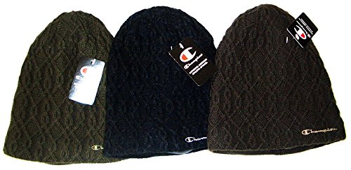 CHAMPION(チャンピオン)ニットワッチ(裏フリース)二重ニット帽/492-0054 (ブラウン)