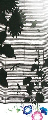 kenema 注染手拭い 『夏の風物詩』 影簾 36×90cm