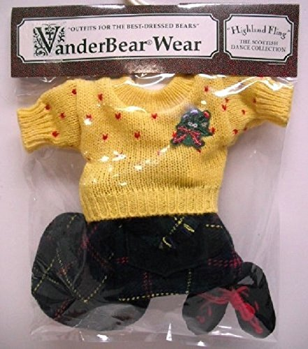 Hoppy Vanderhare A Highland Fling Scottish Dance Collection Outfit (Muffy Vanderbear)