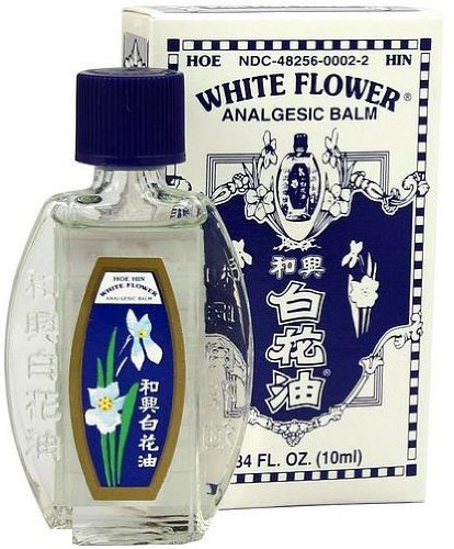White Flower White Flower Analgesic Balm 0.34 Oz