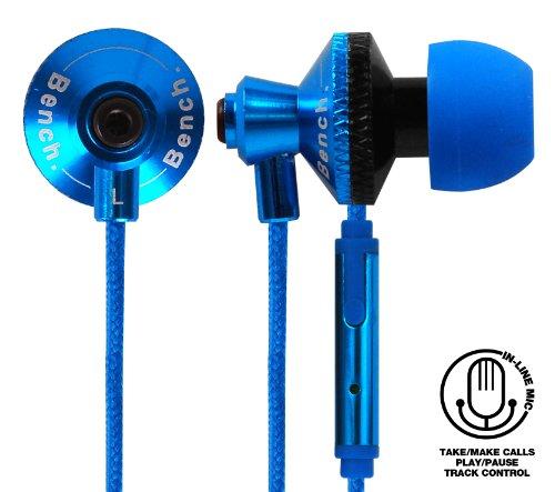 Bench Beat-Cuffie auricolari con microfono, colore: nero