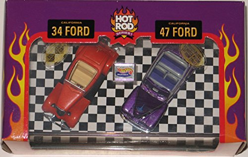 Hot Wheels Collectibles Ford Street Rodder set with display case - 1