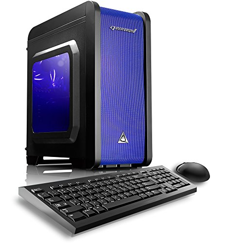 CybertronPC Electrum QS-A4 Gaming Desktop - AMD A4…