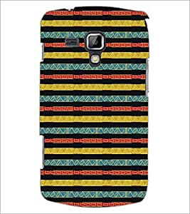 PrintDhaba Pattern D-5275 Back Case Cover for SAMSUNG GALAXY S DUOS S7562 (Multi-Coloured)
