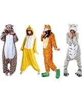 Ferrand Kigurumi Pyjamas Unisexe Adulte Costume Cosplay Animaux Onesie Panda