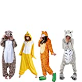 Voglee- Kigurumi Pajamas Unisex Adult Cosplay Costume Animal