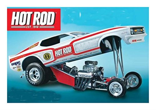 1970's Hot Rod Magazine Mustang Funny Car 1/25 model kit new 801 Great Quality (Dragster Model Kits compare prices)
