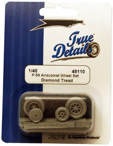 True Details P-59 Airacomet Wheel Set
