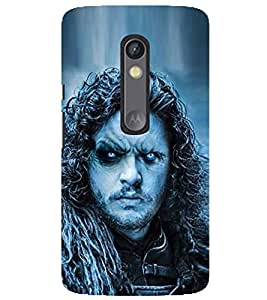 Evaluze jon snow Printed Back Case Cover for MOTOROLA MOTO X PLAY