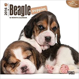 Beagle Puppies 2016 Mini 7x7 (Multilingual Edition)