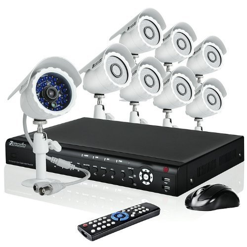 Best Price Cheap Zmodo 16CH H 264 Video DVR Security