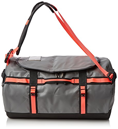 The North Face Base Camp Duffel Borsone da viaggio, 53 x 32,5 cm, 50 litri, zinc grey - topical coral (Multicolore) - T0CWW3-EPS