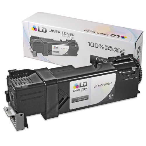 LD © Compatible Replacement for Xerox 106R01597 Black Laser Toner Cartridge for use in Phaser 6500, 6500N, 6500DN and WorkCentre 6505 Printers