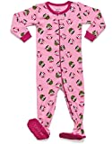 Leveret Owl Footed Pajama 12-18 Months