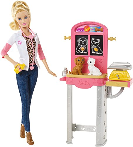 Barbie Careers Pet Doll Playset