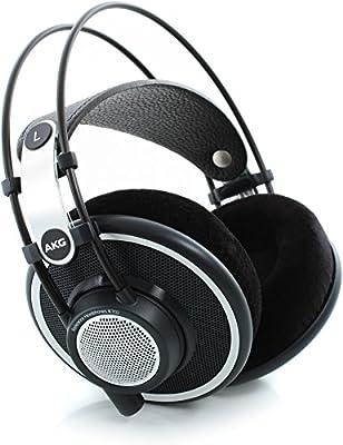 AKG K702 Open-Back Dynamic Reference Headphones - Black