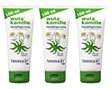 Herbacin wuta kamille 82103 Skincare Cream + Aloe Vera and Vitamin E Tube 100 ml Pack of 3