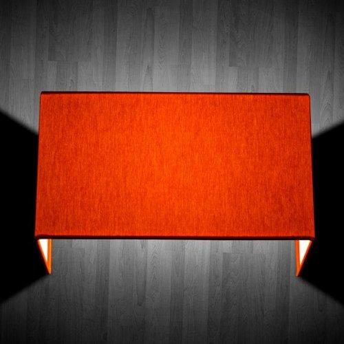 Square W 1 luce Arancio - Applique moderna - OLUX ILLUMINAZIONE