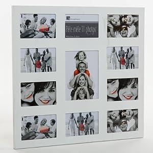 cornice portafoto da parete multipla effetto collage. Black Bedroom Furniture Sets. Home Design Ideas