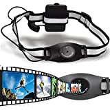 DBPOWER® AT21 Ajustable Head-Mounted Head Sports Action Camera DV Cam Camcorder 3 Hours 1.3MP