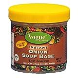 Vogue Cuisine Onion Soup & Seasoning Base 4oz - Low Sodium & Gluten Free