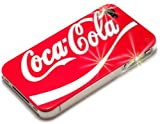 Coca Cola Red Hard Back Case iPhone 4/4S Case / Shell / Cover Hard Plastic