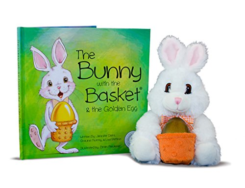The Bunny With the Basket & the Golden Egg Easter Book
