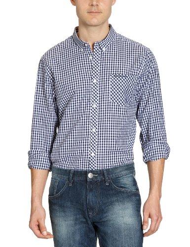 Ben Sherman MA00003 Men's Casual Shirt Light Navy Small