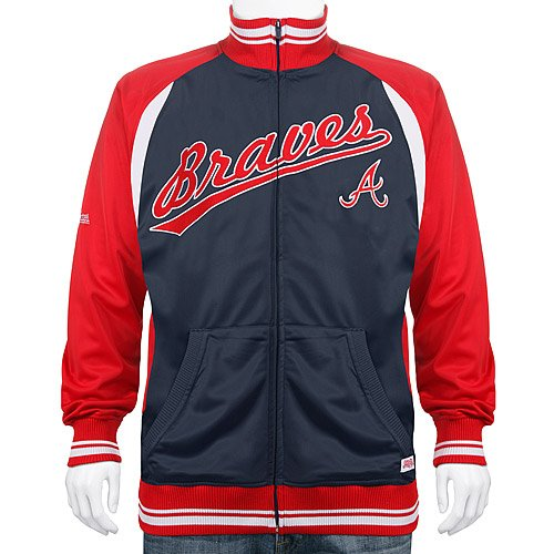 Atlanta Braves Colorblock Track Jacket at Amazon.com